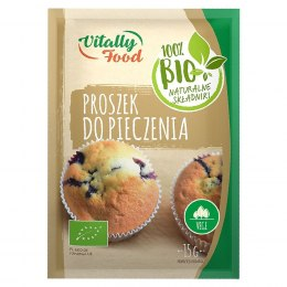 Proszek do pieczenia Vitally Food BIO, 15g