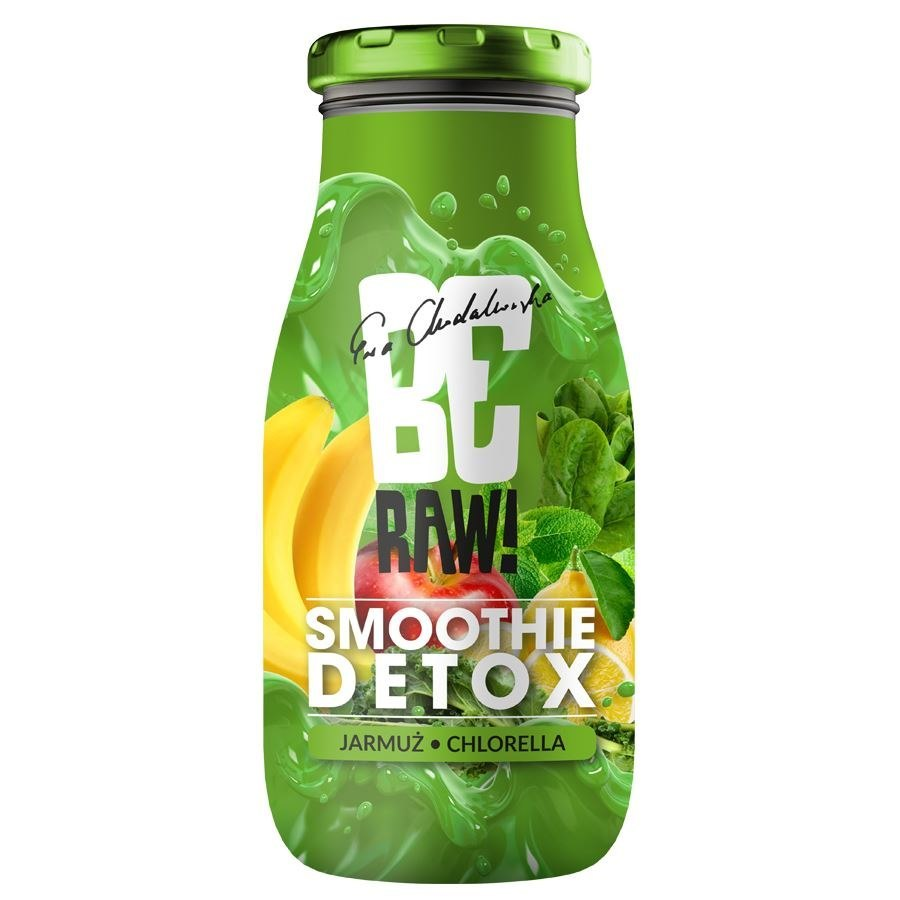 Smoothie BeRAW - Detox Purella, 250ml