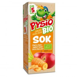 Sok jabłko-marchew PYSIO BIO, 200ml