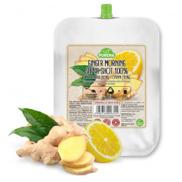 Ginger Morning - Super Shot 100% koncentrat z imbiru i cytryny Purena, 200ml