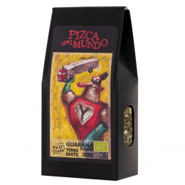 Guarana power - yerba mate z guaraną Pizca del Mundo BIO, 100g