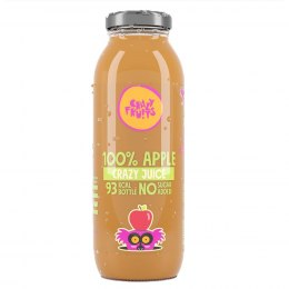 Sok jabłkowy 100% NFC Crazy Fruits, 250ml